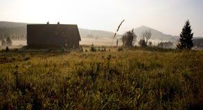 Panorama de montagne de Jizera, République Tchèque Image stock