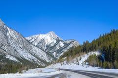 Panorama de montagne rocheuse Photos libres de droits