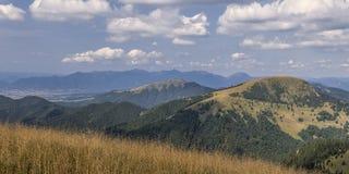 Panorama de montagnes Photo libre de droits