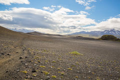 Panorama de montanhas islandêsas Foto de Stock Royalty Free