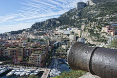 Panorama de Monte Carlo Mónaco imágenes de archivo libres de regalías