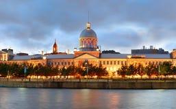 Panorama de Montreal imagen de archivo libre de regalías