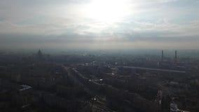 Panorama de Moscú almacen de video