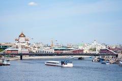 Panorama de Moscou Photos libres de droits