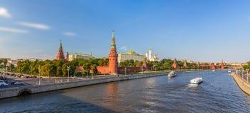 Panorama de Moscou Kremlin Photos stock
