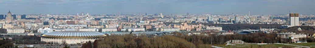 Panorama de Moscovo foto de stock
