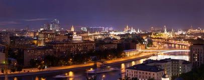 Panorama de Moscovo fotografia de stock royalty free
