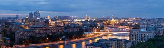 Panorama de Moscovo imagens de stock royalty free