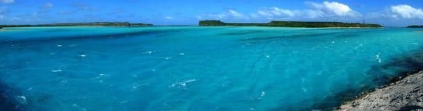 Panorama de Mouli, Nouvelle-Calédonie Image stock