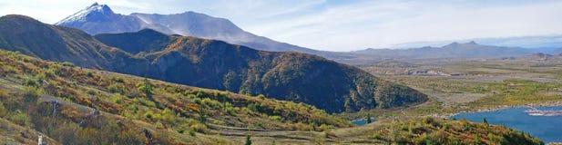 Panorama de Mt St Helens Photographie stock libre de droits