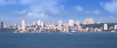 Panorama de Mumbai Imagen de archivo libre de regalías