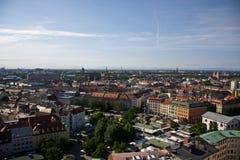 Panorama de Munich Photographie stock