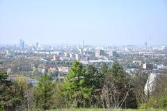 Panorama de Munich - panorama Muenchen foto de stock royalty free