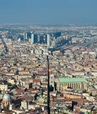 Panorama de Nápoles Fotos de Stock Royalty Free