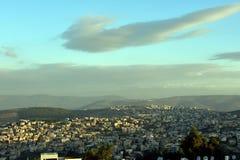 Panorama de Nazaret imagen de archivo libre de regalías