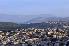 Panorama de Nazaret fotos de archivo