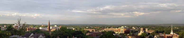 Panorama de New Britain le Connecticut Images libres de droits