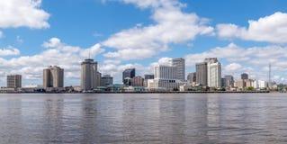 Panorama de New Orleans Luisiana fotografía de archivo