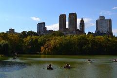 Panorama de New York Photos libres de droits