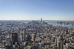 Panorama de New York Foto de Stock Royalty Free
