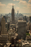Panorama de New York Photos stock