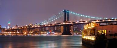 Panorama de New York City Fotos de archivo