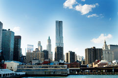 Panorama de New York City imagem de stock royalty free