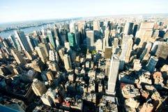 Panorama de New York City imagens de stock royalty free