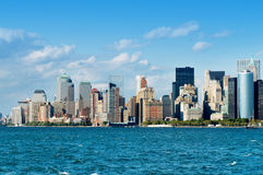 Panorama de New York City imagen de archivo libre de regalías