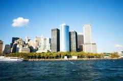 Panorama de New York City fotos de stock