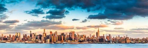 Panorama de New York City Fotografía de archivo libre de regalías