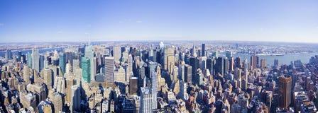 Panorama de New York City de l'état d'empire photo libre de droits