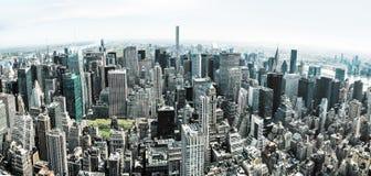 Panorama de New York City Manhattan Fotografía de archivo libre de regalías
