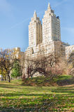 Panorama de New York City Manhattan Central Park Photos stock