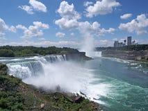 Panorama de Niagara Falls Imagen de archivo libre de regalías