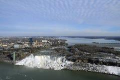 Panorama de Niagara Falls photographie stock