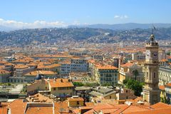 Panorama de Nice, France Photo libre de droits