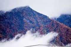 Panorama de niebla Foto de archivo libre de regalías