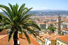 Panorama de Niza, Francia Fotografía de archivo libre de regalías