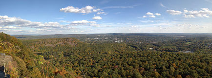 Panorama de Nova Inglaterra fotos de stock