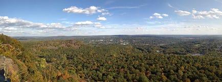 Panorama de Nueva Inglaterra fotos de archivo