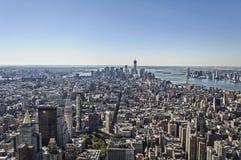 Panorama de Nueva York foto de archivo libre de regalías