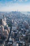 Panorama de Nueva York Imagen de archivo libre de regalías