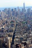 Panorama de Nueva York, América, Manhattan imagen de archivo