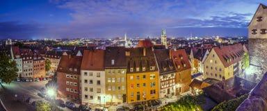 Panorama de Nuremberg Imagem de Stock