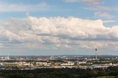 Panorama de Nuremberg Imágenes de archivo libres de regalías
