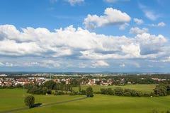 Panorama de Nuremberg Fotografía de archivo libre de regalías