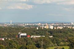 Panorama de Nuremberg Imagenes de archivo