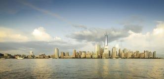 Panorama de NYC foto de stock