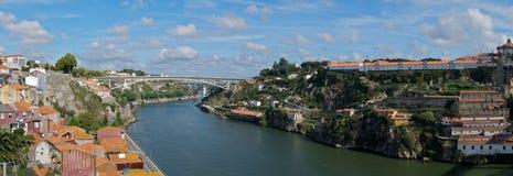 Panorama de Oporto imagen de archivo libre de regalías